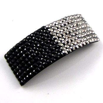 ADDL Item  1 pc crystals Acrylic hair barrette clip