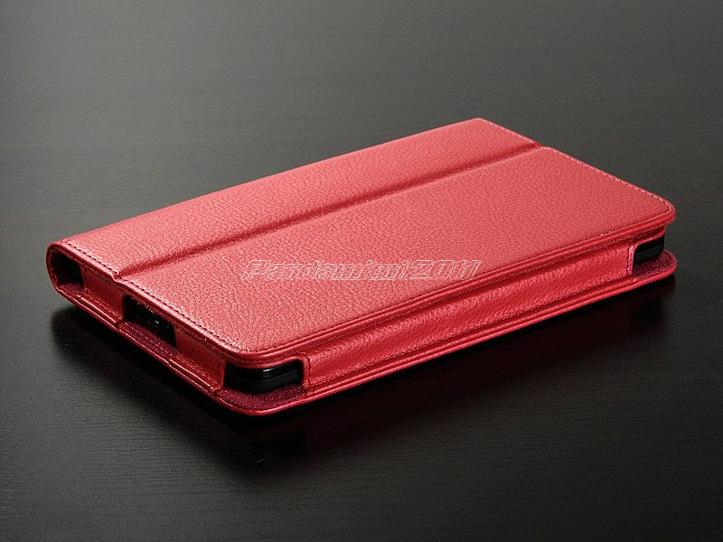 For Kindle Fire PU Leather Case Cover Stand/Car Charger/USB/Stylus