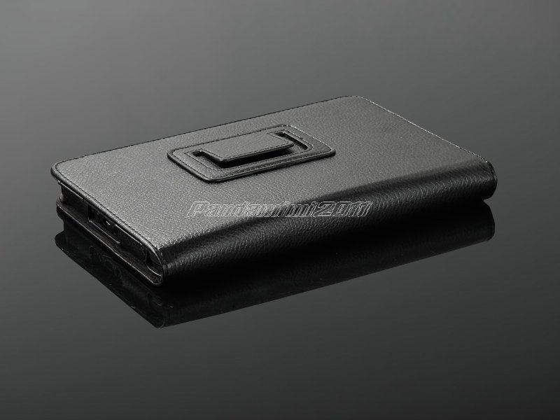 For Kindle Fire PU Leather Case Cover Stand/Charger/USB Cable/Stylus