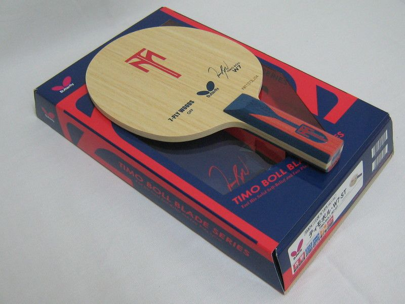 Butterfly Timo Boll W7 Table Tennis Blade (OFF)